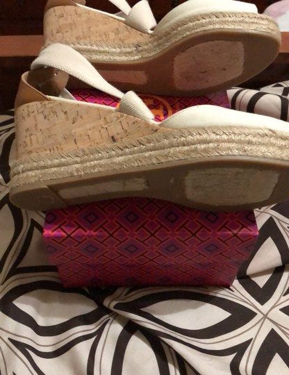 Tory Burch creme Wedges Image 6