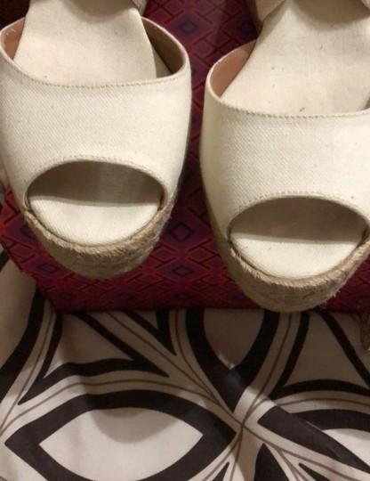 Tory Burch creme Wedges Image 8