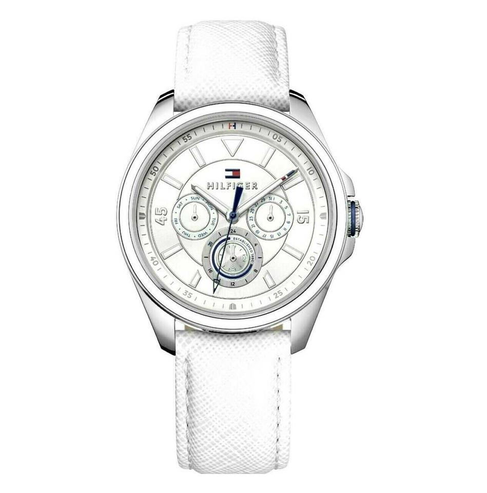 f3256e59a Tommy Hilfiger Tommy Hilfiger Women's Watch Sophisticated Sport Leather White  Watch Image 0 ...