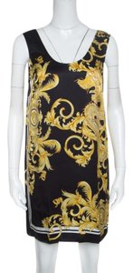 d4aa910adb5 Versace Print Silk Satin Sleeveless Mini Dress