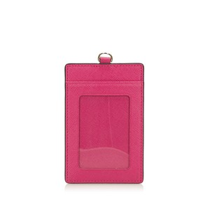 MCM MCM Pink Hot Pink Leather Card Holder Germany w Dust BagBox SMALL