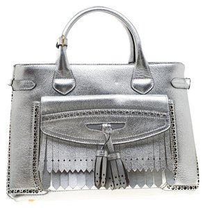 d66281889fbb Silver Burberry Bags - 70% - 90% off at Tradesy