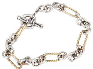 David Yurman Figaro Link Toggle Bracelet