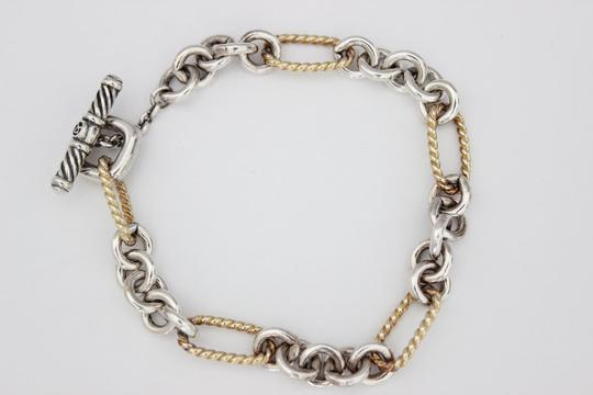 David Yurman Figaro Link Toggle Bracelet Image 1