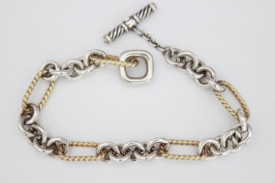 David Yurman Figaro Link Toggle Bracelet Image 2