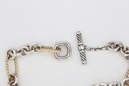 David Yurman Figaro Link Toggle Bracelet Image 3