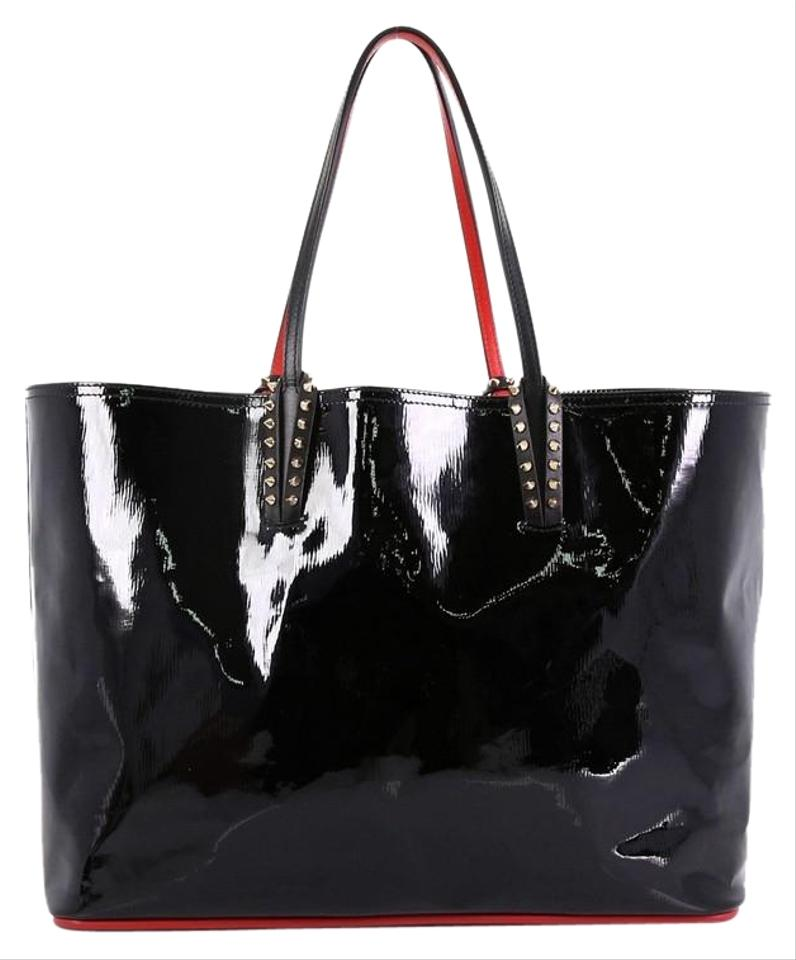 a8ee28a0fc0 Christian Louboutin Cabata East West Large Black Patent Leather Tote 34%  off retail