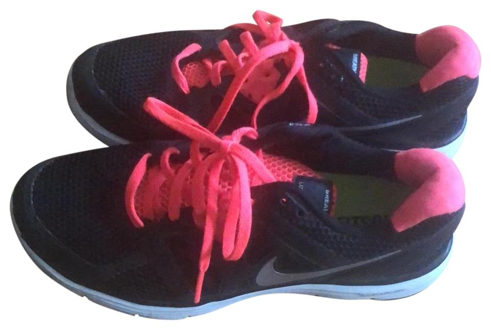sneakers for cheap be12f e7ad5 Nike Black with Coral Fitsole Lunarlon Lunarglide 3 Sneakers Size US 9  Regular (M, B)