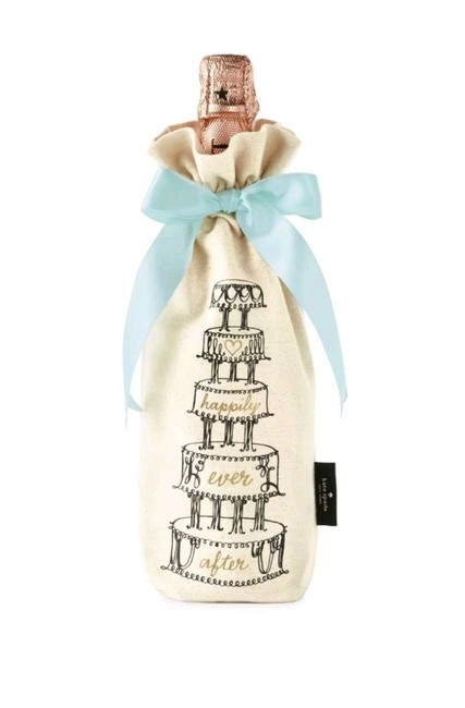 """Item - """"Happily Ever After"""" Decorative Wine Tote/Bag Barware"""