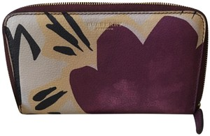 Burberry Burberry Limited Collection Leather Rain or Shine Floral Wallet