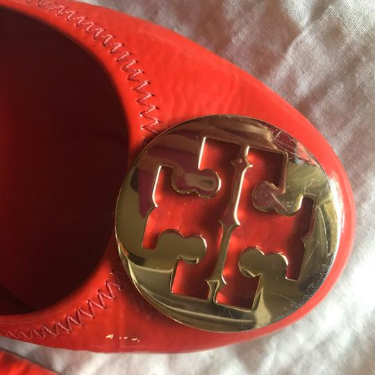 Tory Burch orange and gold Flats Image 1