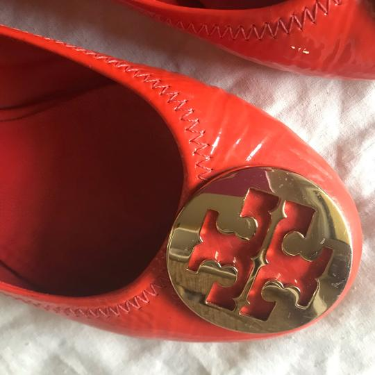 Tory Burch orange and gold Flats Image 2