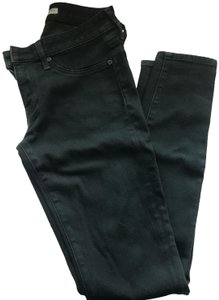 Joie Waxed Coated Skinny Jeans-Coated
