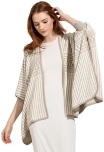 Kit and Ace Poncho Silk Cashmere Cape Reversible Cardigan