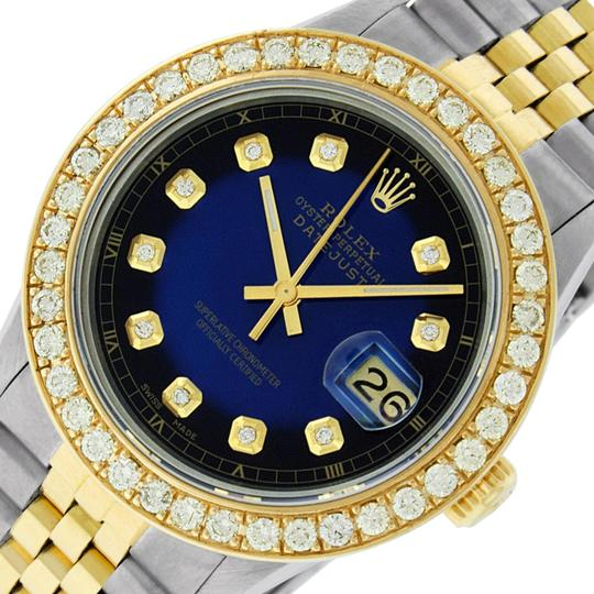 Preload https://img-static.tradesy.com/item/25349742/rolex-blue-vignette-mens-datejust-ssyellow-gold-with-diamond-dial-watch-0-1-540-540.jpg