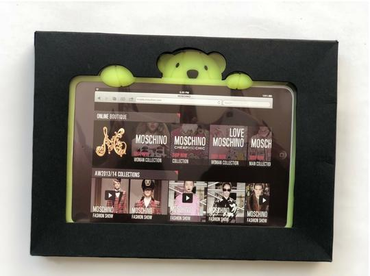 Moschino Moschino Gennarino the Bear Glow in the Dark Rubber iPad Mini Case Image 3