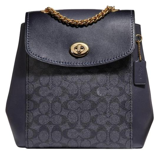 Preload https://img-static.tradesy.com/item/25349925/coach-parker-convertible-signature-charcoalmidnight-coated-canvas-backpack-0-1-540-540.jpg