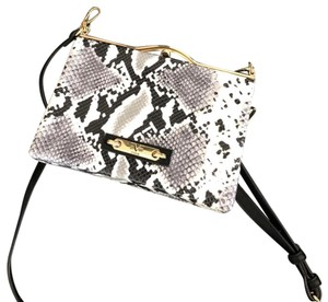 Versace 19.69 Black, white, and grey Clutch
