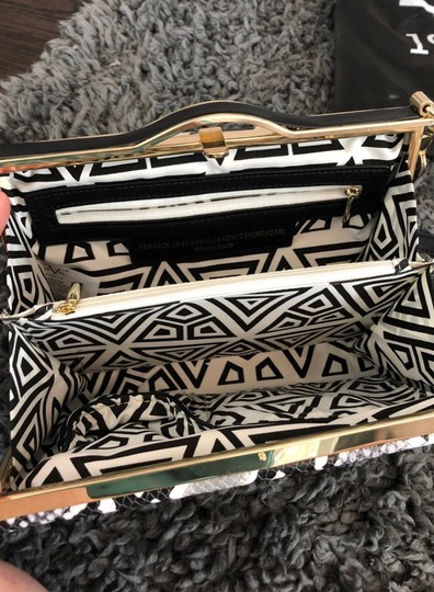 Versace 19.69 Black, white, and grey Clutch Image 1