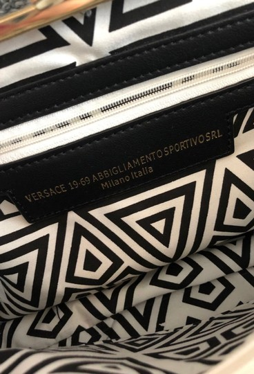 Versace 19.69 Black, white, and grey Clutch Image 2