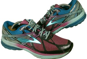 Brooks Ravenna Jogging Running GREEN PINK BLACK Athletic