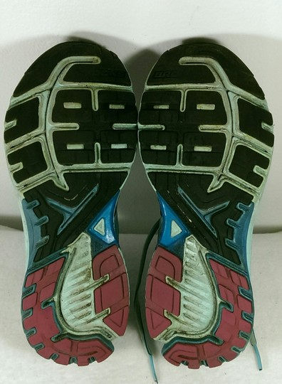 Brooks Ravenna Jogging Running GREEN PINK BLACK Athletic Image 11