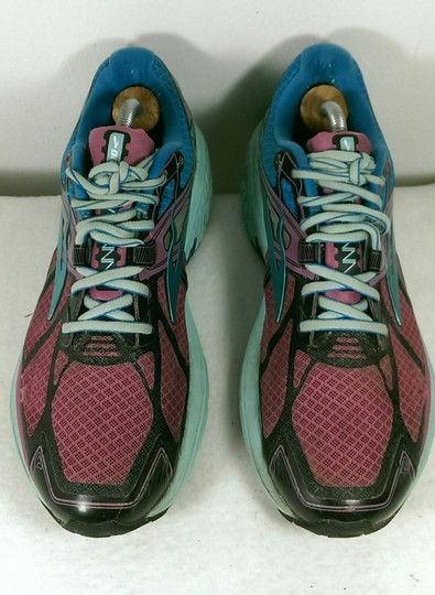 Brooks Ravenna Jogging Running GREEN PINK BLACK Athletic Image 4