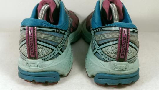 Brooks Ravenna Jogging Running GREEN PINK BLACK Athletic Image 6