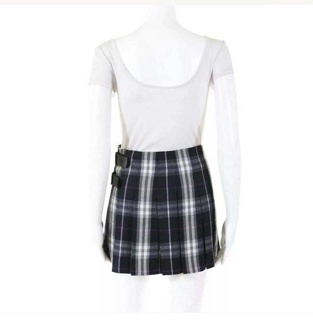 Burberry Mini Skirt (WOOL)MULTI COLORED Image 1