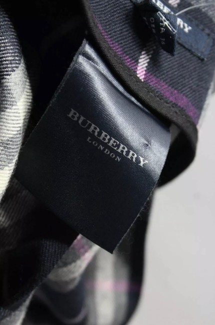 Burberry Mini Skirt (WOOL)MULTI COLORED Image 5