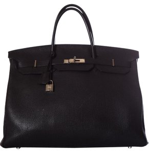 Hermès Tote in Black
