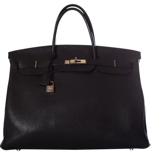Preload https://img-static.tradesy.com/item/25350220/hermes-birkin-40cm-black-togo-leather-tote-0-1-540-540.jpg