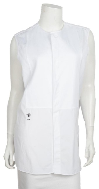 Preload https://img-static.tradesy.com/item/25350245/dior-white-christian-sleeveless-button-up-tank-topcami-size-12-l-0-1-650-650.jpg