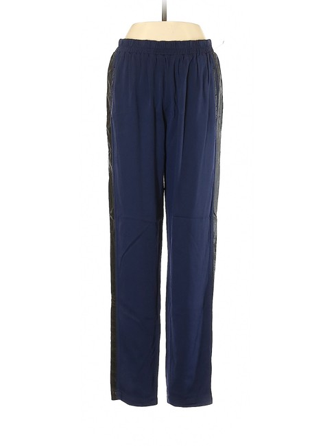 Anthropologie Herem Jogger Relaxed High Rise Boyfriend Pants Blue Image 2