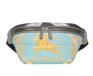 Burberry Fanny Pack Waist Belt Archive Scarf Cross Body Bag