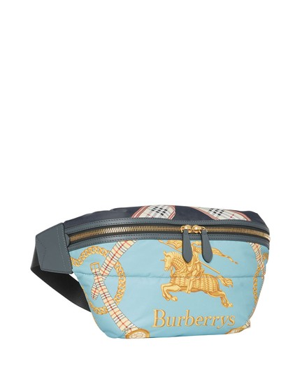 Burberry Fanny Pack Waist Belt Archive Scarf Cross Body Bag Image 1
