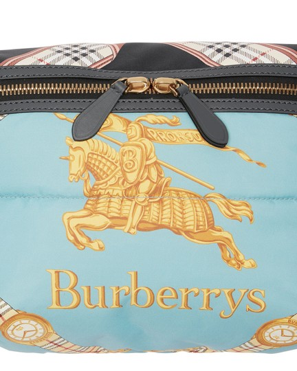 Burberry Fanny Pack Waist Belt Archive Scarf Cross Body Bag Image 4