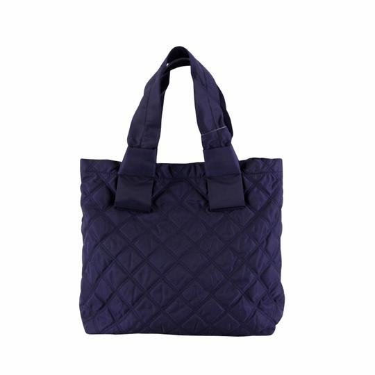 Marc Jacobs Nylon Tote in Midnight Blue Image 3