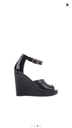 Maison Margiela black Wedges Image 2