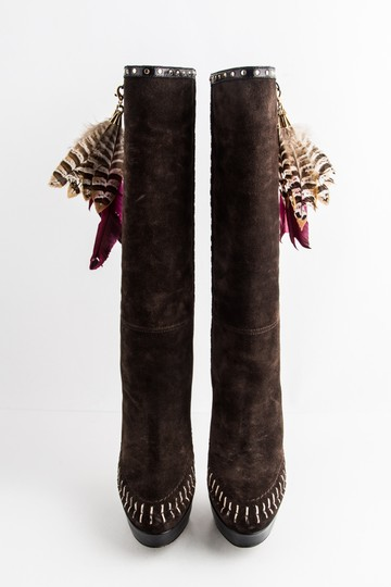 Jimmy Choo Brown Boots Image 1