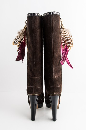 Jimmy Choo Brown Boots Image 4