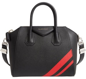 Givenchy Antigona Tote in Black/red