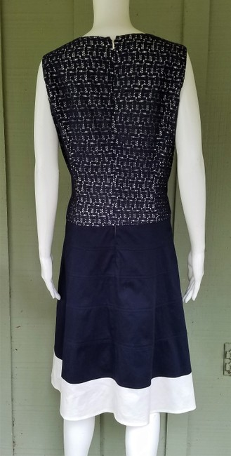 Anne Klein short dress Navy Blue Lace Dropped Waist on Tradesy Image 3