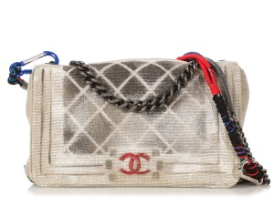 90318ca89fc6 Chanel Ch.q0328.07 Art School Print Cross Body Bag