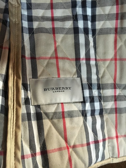 Burberry Tan/Gold Jacket Image 10