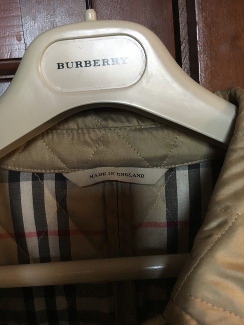 Burberry Tan/Gold Jacket Image 6