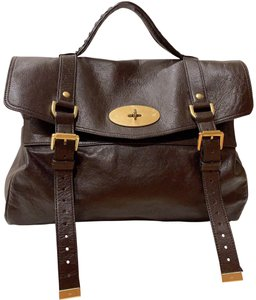 Mulberry Satchel in chocolate