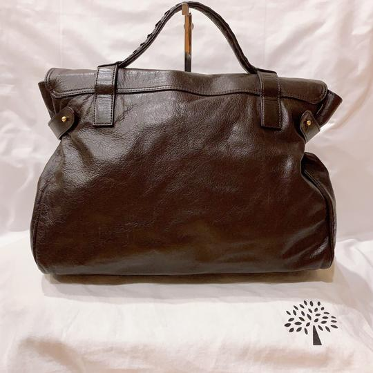 Mulberry Satchel in chocolate Image 1