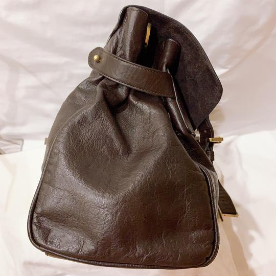 Mulberry Satchel in chocolate Image 2