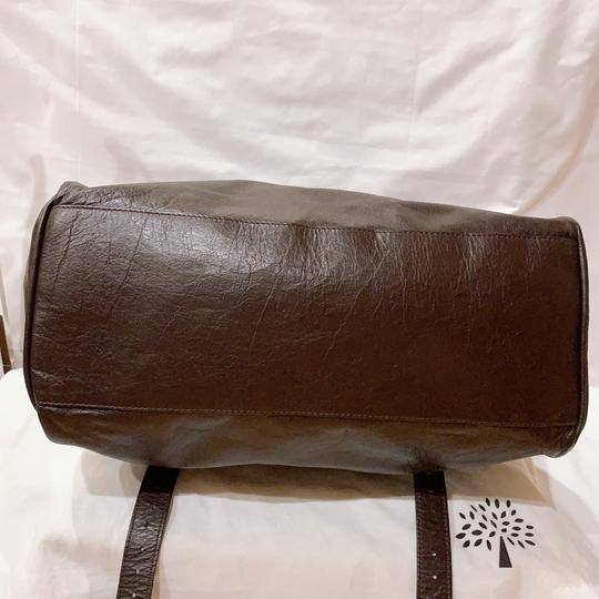 Mulberry Satchel in chocolate Image 4